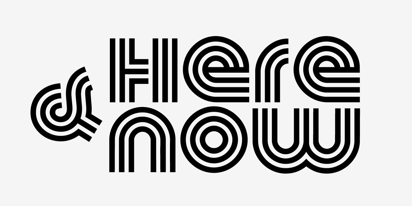 examples of the Macrame Super Triline typeface