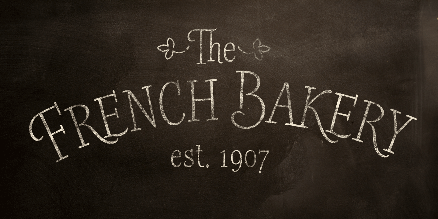 examples of the Barmbrack typeface